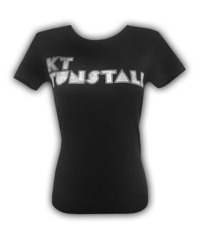 Girl's Distressed Logo T-shirt
