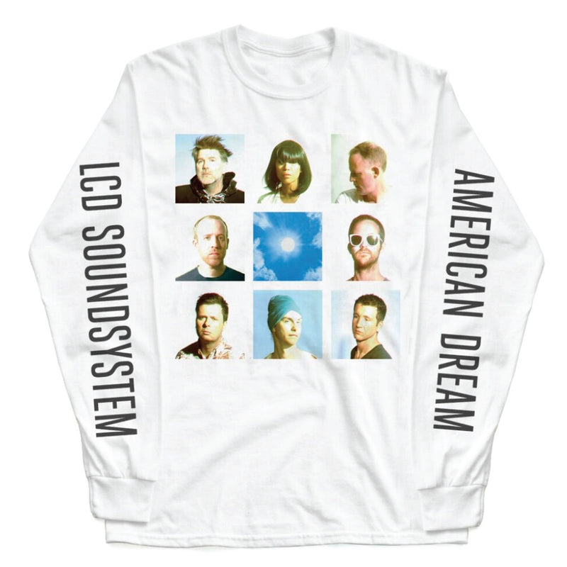 LCD Soundsystem Band Faces L/S T-shirt