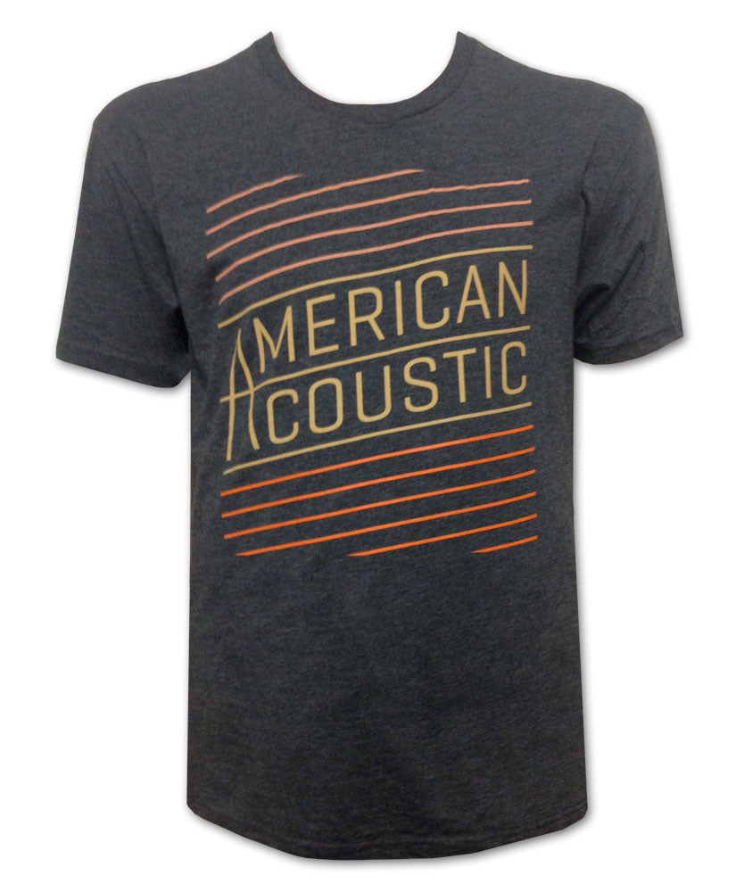 American Acoustic w/ Tour Dates T-shirt