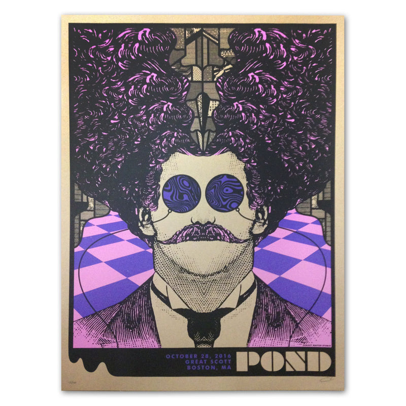 Pond Great Scott Poster [10/28/16 Boston, MA]
