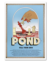 Pond Fall Tour 2018 Poster