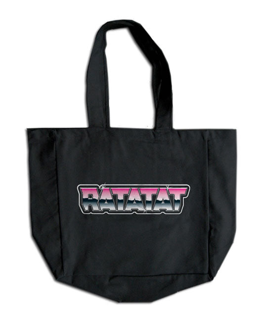 RATATAT Chrome Logo Tote Bag