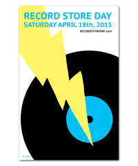 Record Store Day 2015 Poster