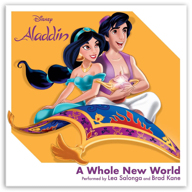"LEA SALONGA AND BRAD KANE ""A Whole New World"" 3"" RSD3 Single"