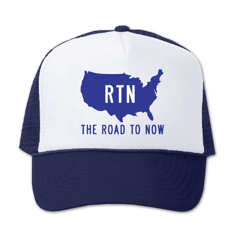 Navy/White Trucker Hat