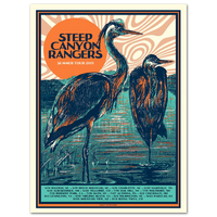 Steep Canyon Rangers Summer 2019 Tour Poster