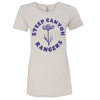 Steep Canyon Rangers Women's Flower T-shirt