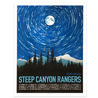 Steep Canyon Rangers Winter 2020 Poster