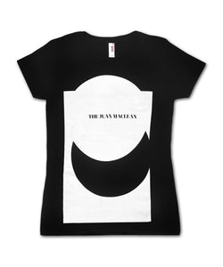 Girl's White Moon T-shirt
