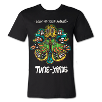 Tuneyards Look At Your Hands Emblem T-shirt