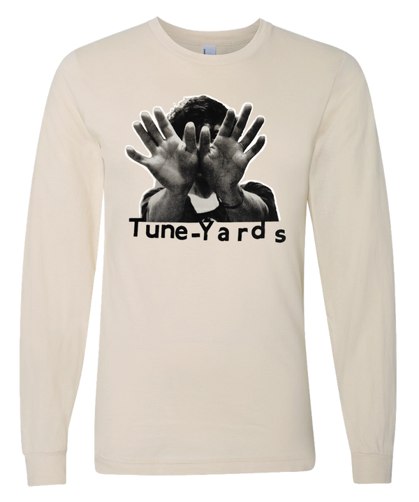 Tuneyards Tan Hands L-S T-shirt