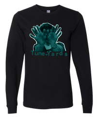 Tuneyards Black Hands L-S T-shirt