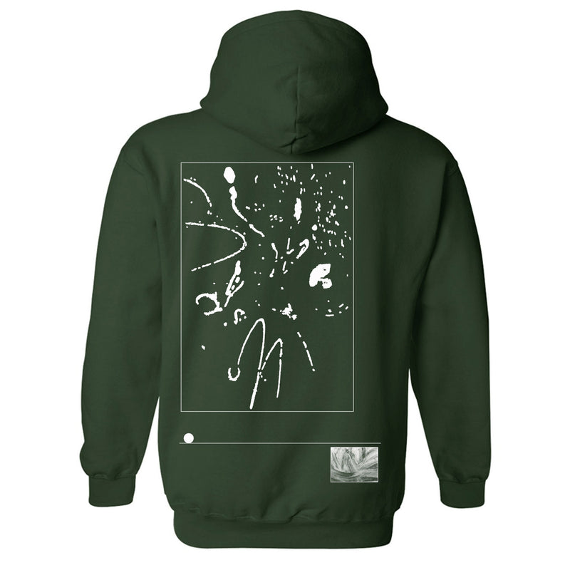 Abstract Logo Pullover Hoodie