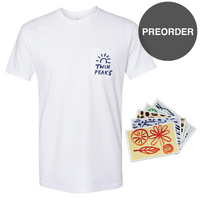 Unfamiliar Sun Pocket Tee + Postcard Bundle