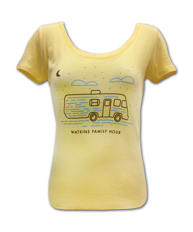 Girl's Yellow Winnebago T-shirt