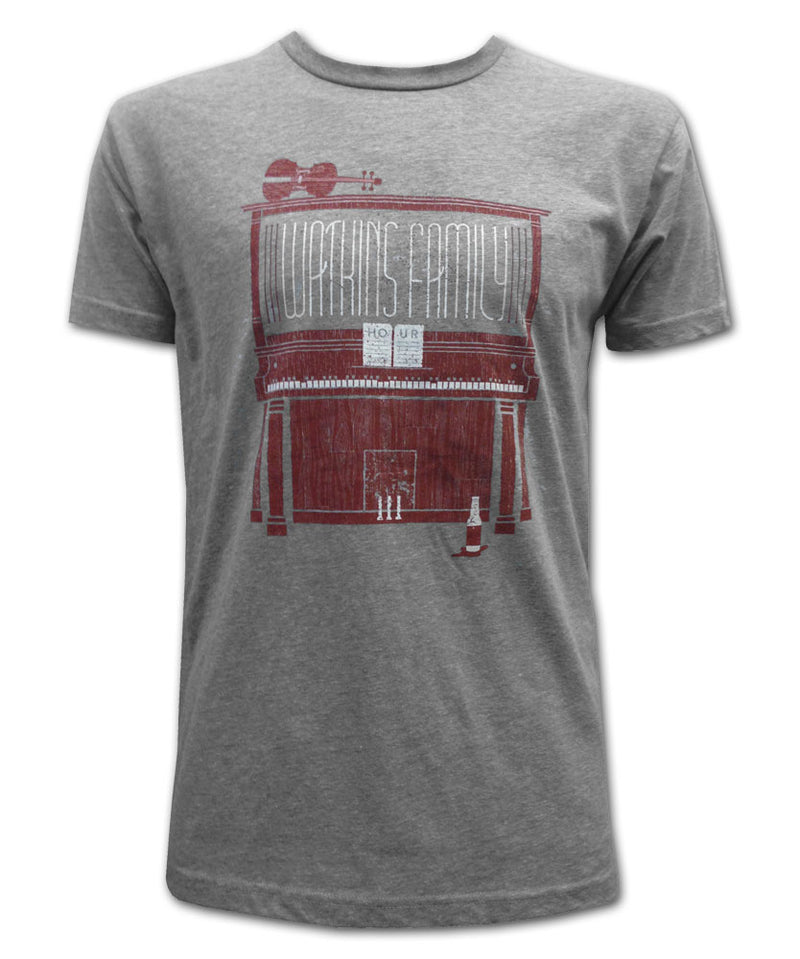 Tour 2015 Heather Grey T-shirt