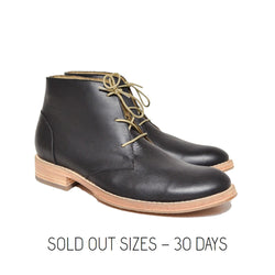 Chukka Boot Black Sold Out Sizes