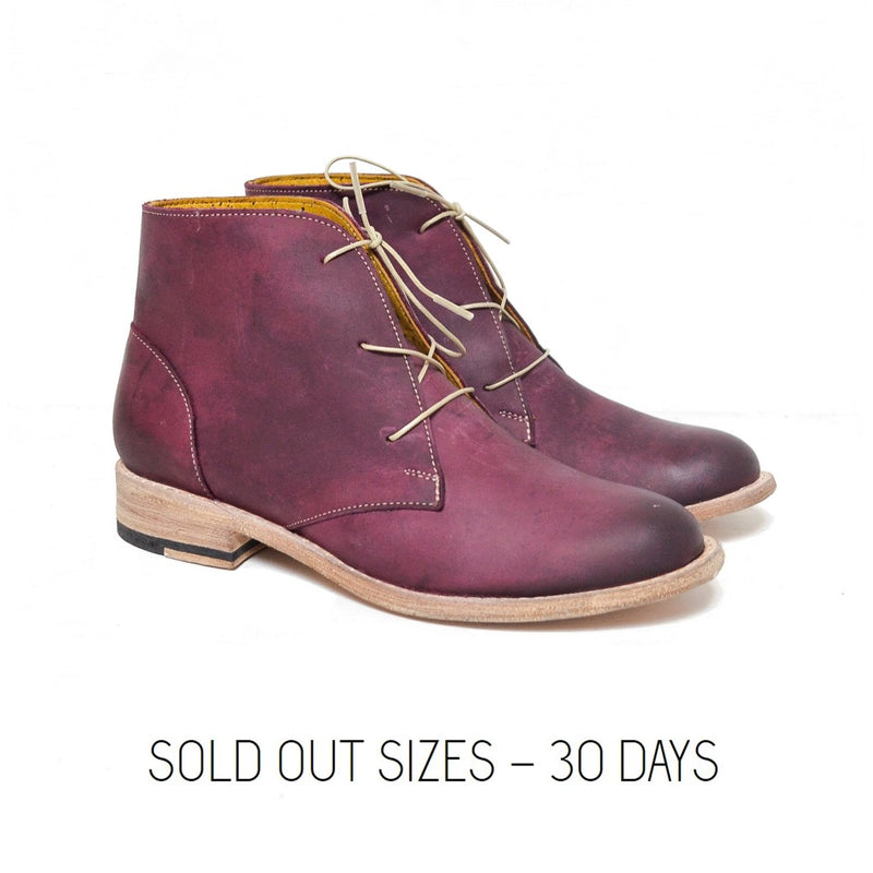 Chukka Marsala / Sold Out Sizes