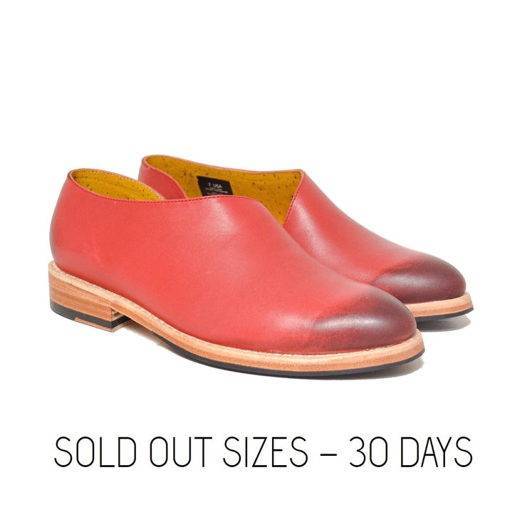 Slipper Dover Red / Sold Out Sizes