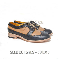 Derby Sheffield Black - Honey / Sold Out Sizes