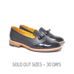 W&B Slipper Patent - Black / Sold Out Sizes