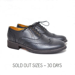 Oxford Wingtip Full Brogue Black / Sold Out Sizes