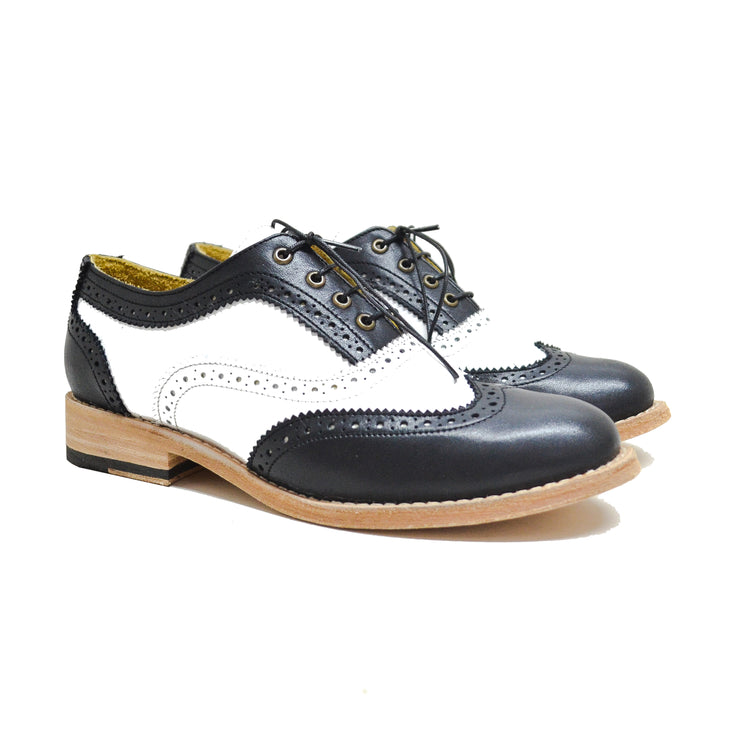Oxford WT Brogue Black & White / Sold Out Sizes
