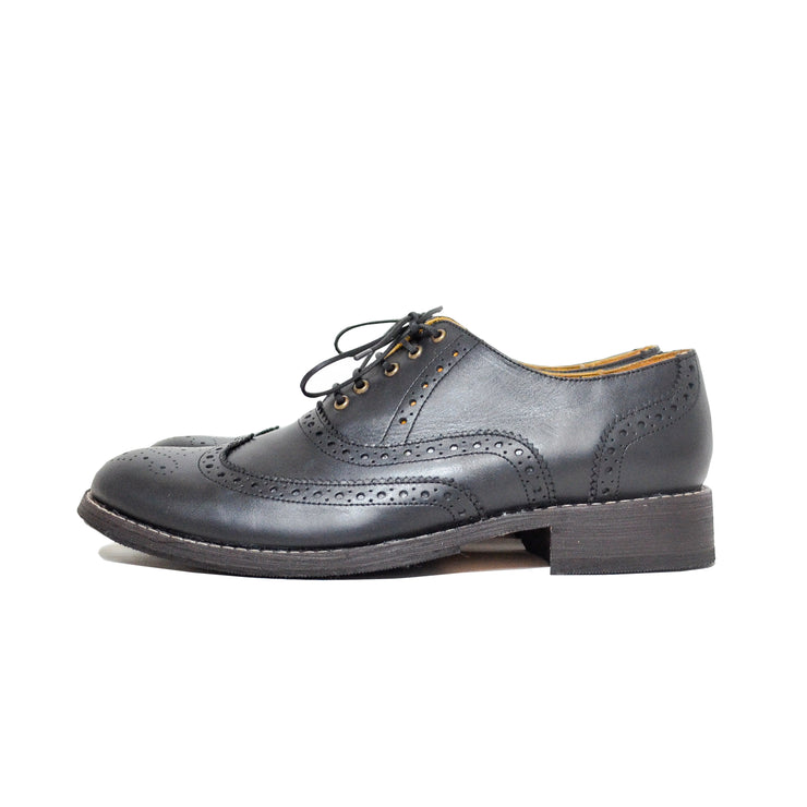 Oxford Wingtip Full Brogue Black