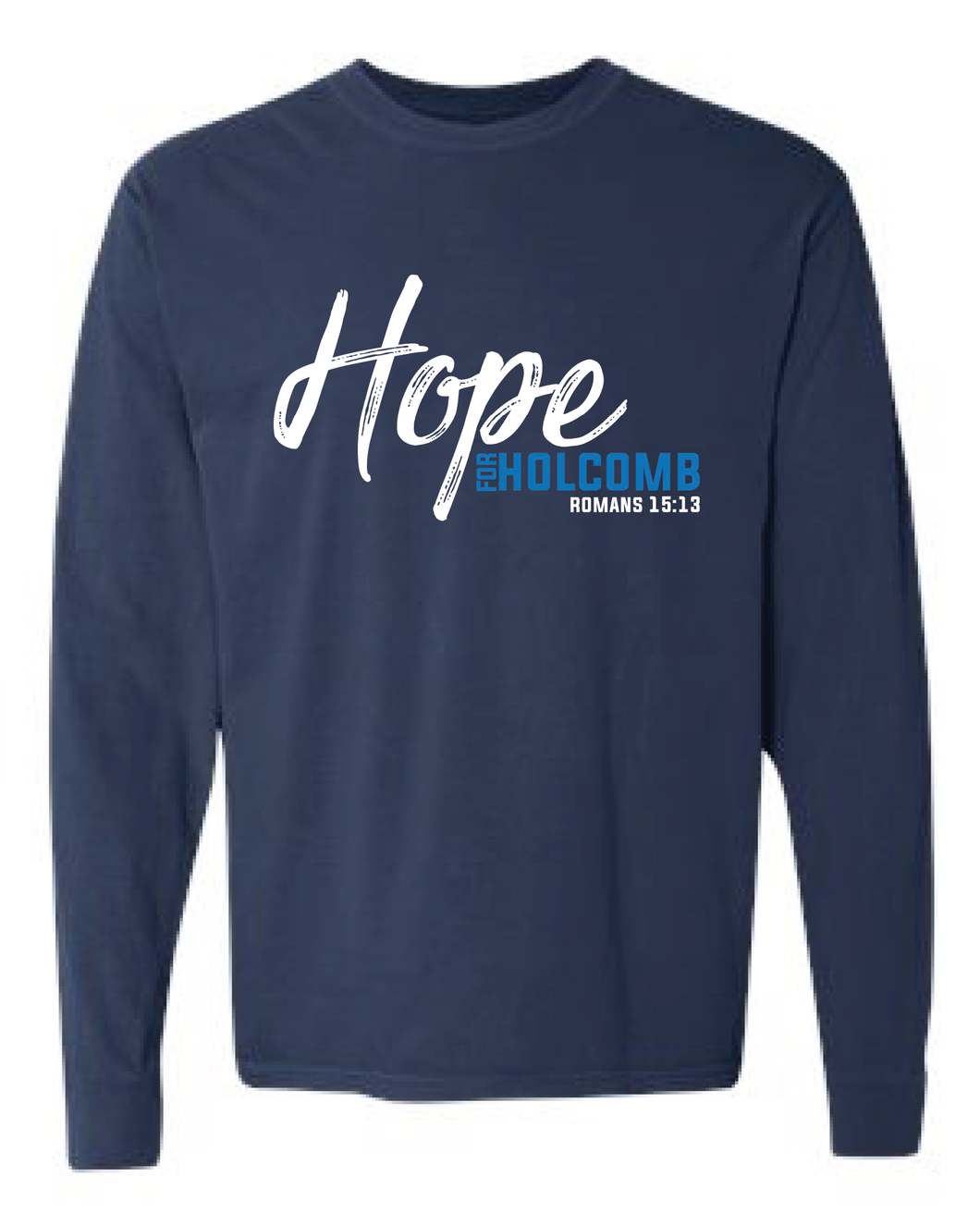 Adult Comfort Colors Long Sleeve - Navy