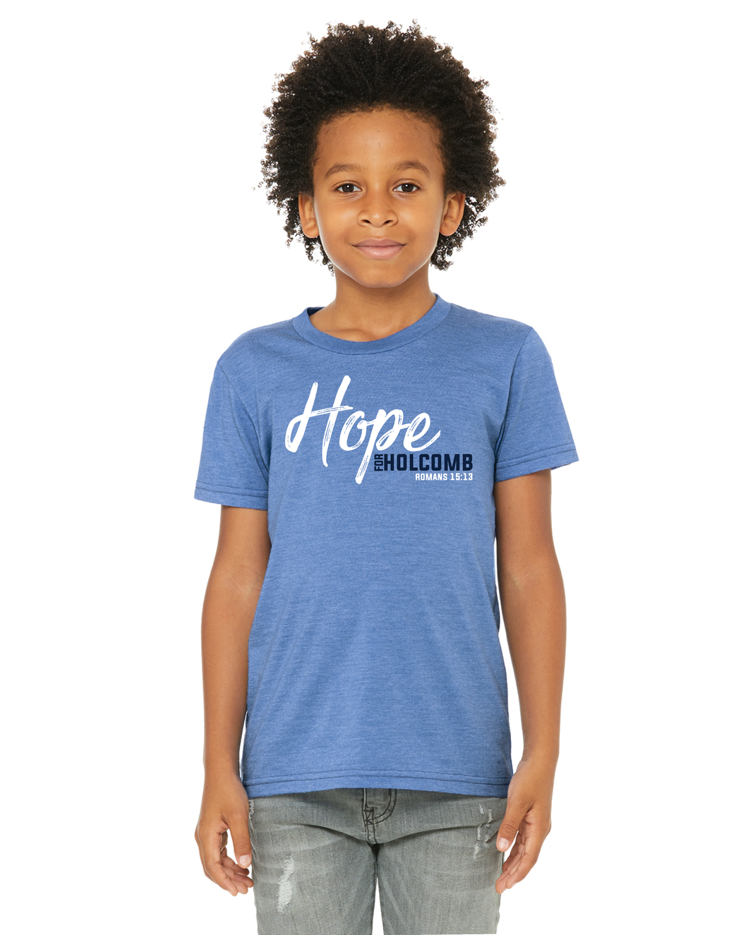 Youth Hope for Holcomb - Heather Columbia Blue
