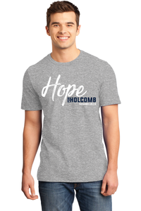 Hope for Holcomb Shirt - Grey Frost