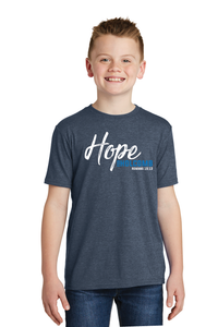Youth Hope for Holcomb - Heathered Navy