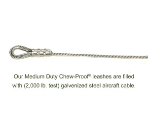 CHEW-PROOF® LEASH-MEDIUM DUTY - 30 Inches and 5 Foot