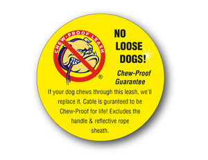 CHEW-PROOF® LEASH-HEAVY DUTY - 30 Inches and 5 Foot