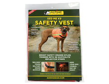 Load image into Gallery viewer, SEE-ME K9 SAFETY VEST