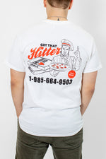 Get That Hitter! White Tee