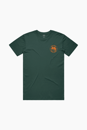 Year Of the Rat King Forest Green Tee
