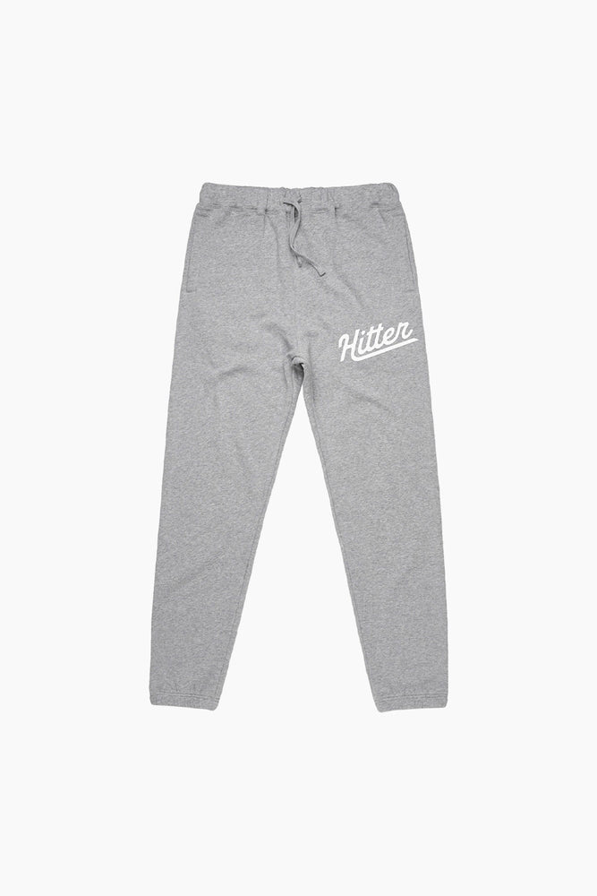 Hitter Heather Grey Sweatpants