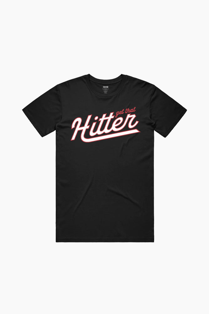 Get That Hitter Black Tee