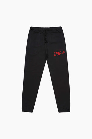 Hitter Black Sweatpants