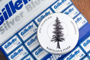 Gillette Silver Blue