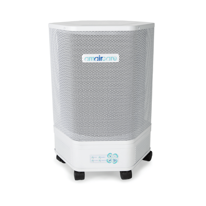 Amaircare Best Selling Air Purifiers Pure White Amaircare 3000 HEPA/VOCs, Pollution & Biologicals Air Purifier 07-A-1KWP-06 626565701499