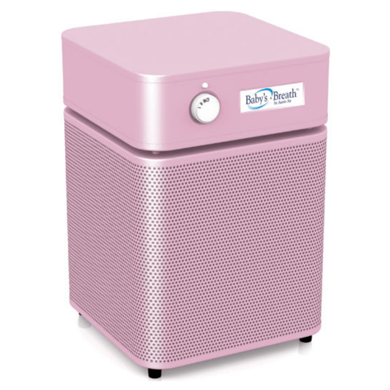 Austin Air Air Purifiers With Wheels / Pink Austin Air Baby's Breath Air Purifier A205H1 769100-21717-5