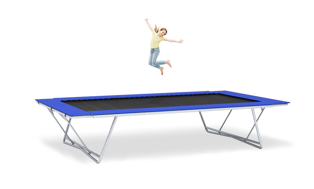 Girl Jumping On 10x17 Xtreme Trampoline