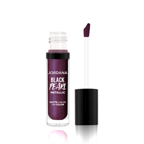 Black Pearl Metallic Matte Liquid Lip Color - 02 Hypnotic