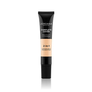Complete Cover 2-In-1 Concealer & Foundation - 01 Fair Beige