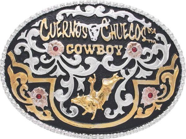 Cuernos Chuecos Belt Buckle #2001