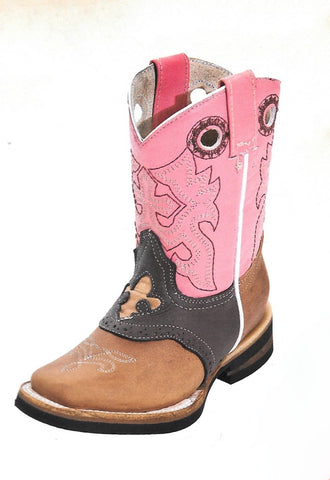 Kids Rodeo Boots 8 - 1 1/2