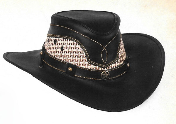 Stone Leather Hats