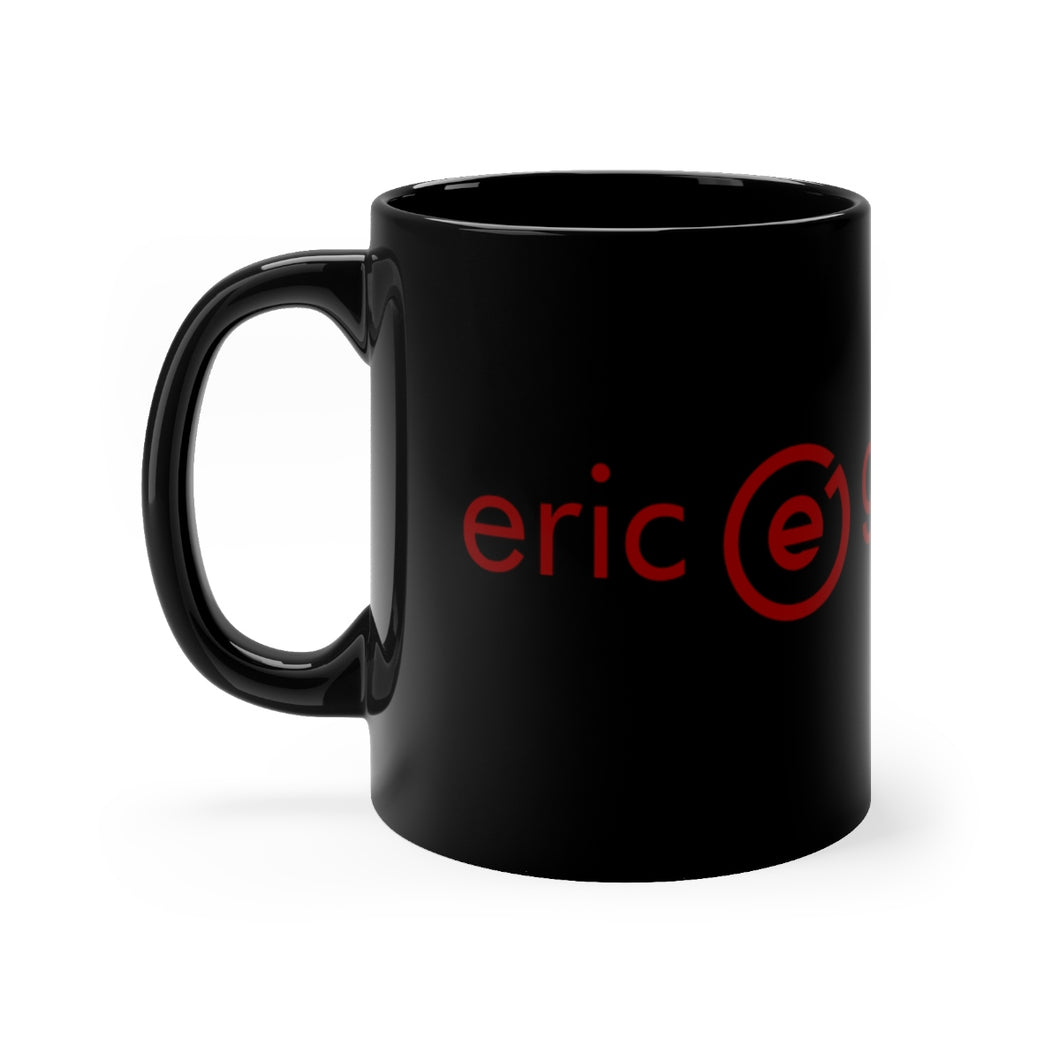 Black Logo mug 11oz